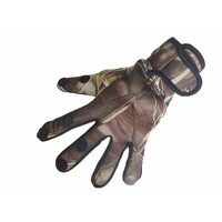 Xhunter Camo Gloves Split Finger For Gun Trigger Shooting Archery Anti-skidding S