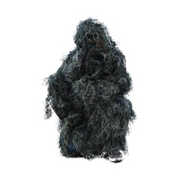 Woodland Print Camo Ghillie Suit 5pcs Set
