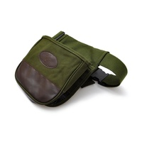 Xhunter Canvas Shotgun Shell Shooter Bag - Double Compartment #00098