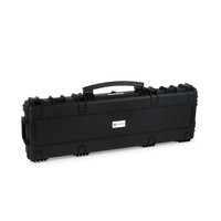 Xhunter Heavy Duty 45inch Waterproof Plastic Gun Case W/ Wheels