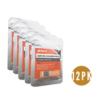 "12 Pks Atacpro Treated Gun Oil Cleaning Patches 3""x3"" (Pack Of 25)"
