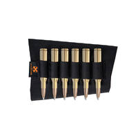 Xhunter Neoprene Buttstock Black Rifle 4rnd Ammo Holder