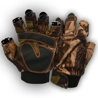 Xhunter Camo Fingerless Gloves