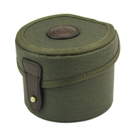 Xhunter Canvas Leather Ammo Pouch Case