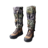 Atac Por Hunting Gaiters Long Camo Fleece W/ Guard Hiking Hunting Leg Protection