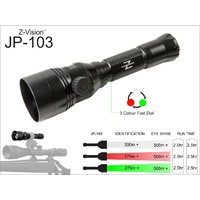 Z-Vision Jp-103 3 In 1 Rifle Mount Light Kit Small Lens