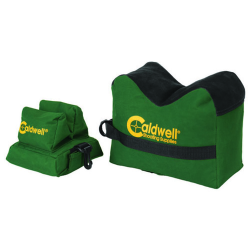 Caldwell Deadshot Front & Rear Unfilled Bag Set Combo #248885