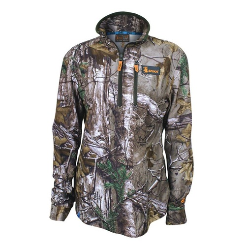 Spika Womens Tracker Long Sleeve - Realtree Camo #hw-105 [L]