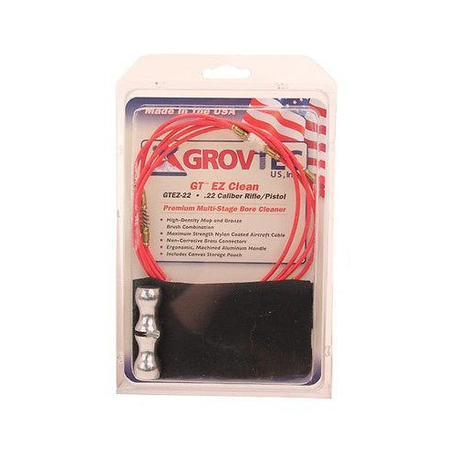 Grovtec Single Stage Cleaning Kit For .22cal